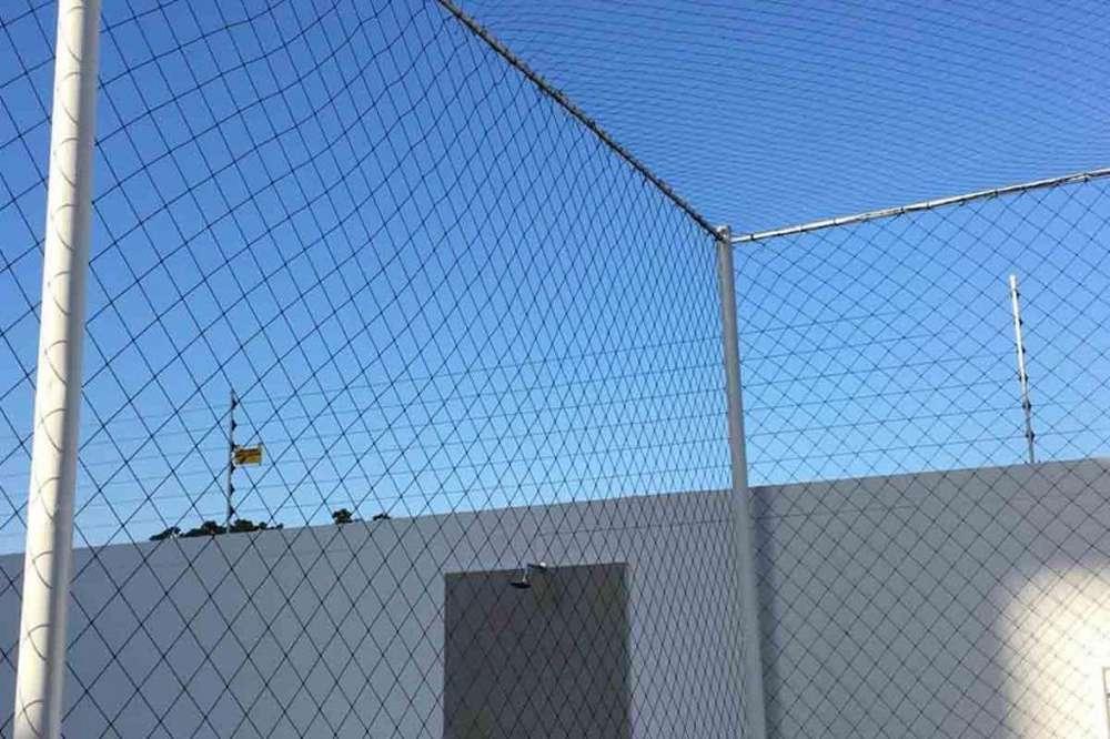 Malla de nylon para canchas de Fútbol en Barranquilla.