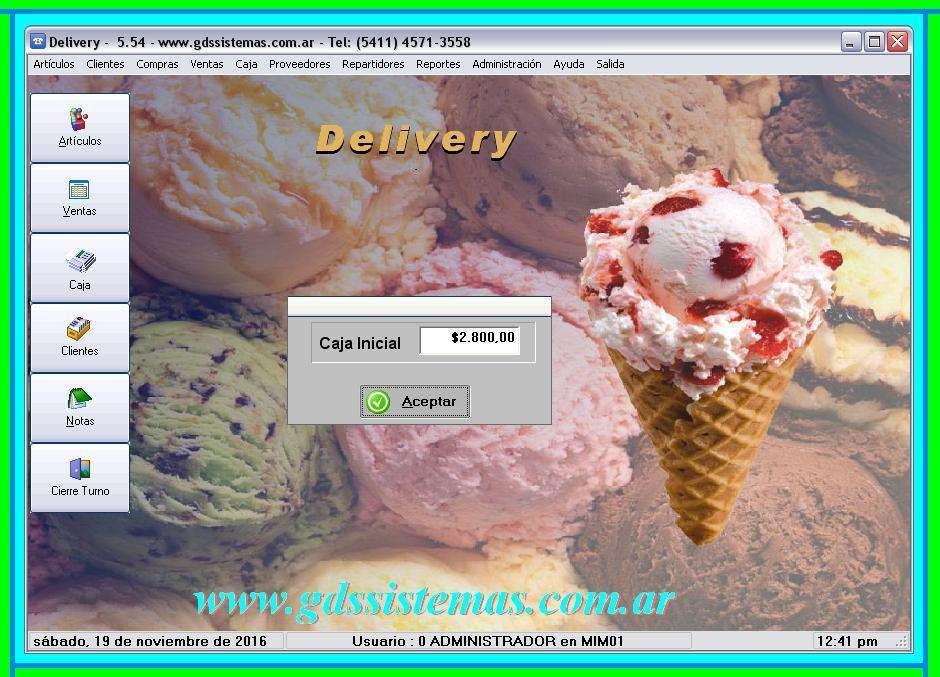 _ programa HELADERÍA GDS Sistemas _ <strong>software</strong> de gestión comercial - mostrador y delivery