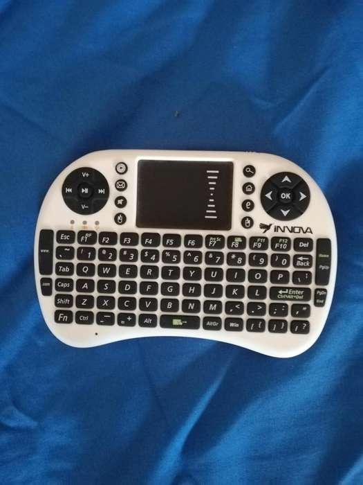control con teclado para tv