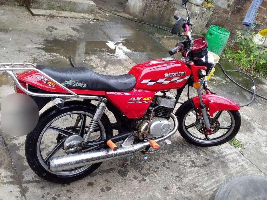 Se Vende Suzuki Ax Al Dia Perfecto Estad