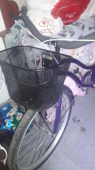 Hermosa Bicicleta para Dama sin Detalle