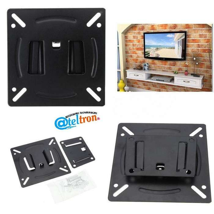 Bases soportes lcd led kit montaje fijo <strong>monitor</strong> computador o Tv 10-24 pulgadas