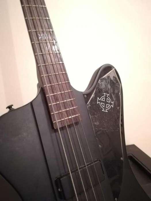 Bajo Epiphone Thunderbird Iv Goth Bass