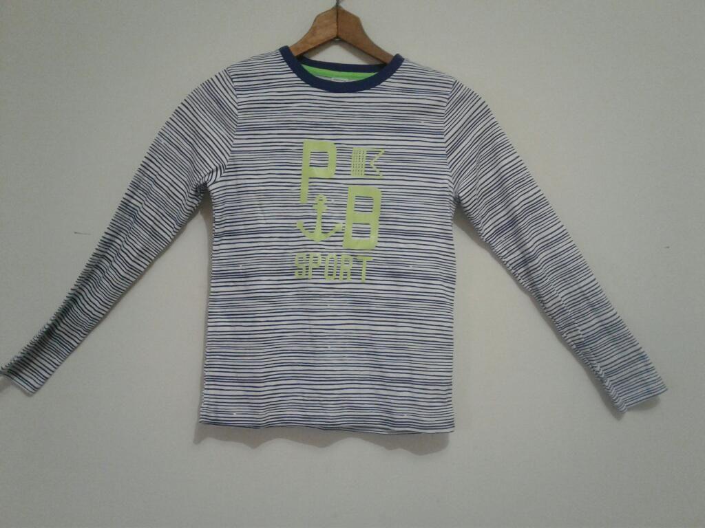 Camisa Niño Americana Nueva