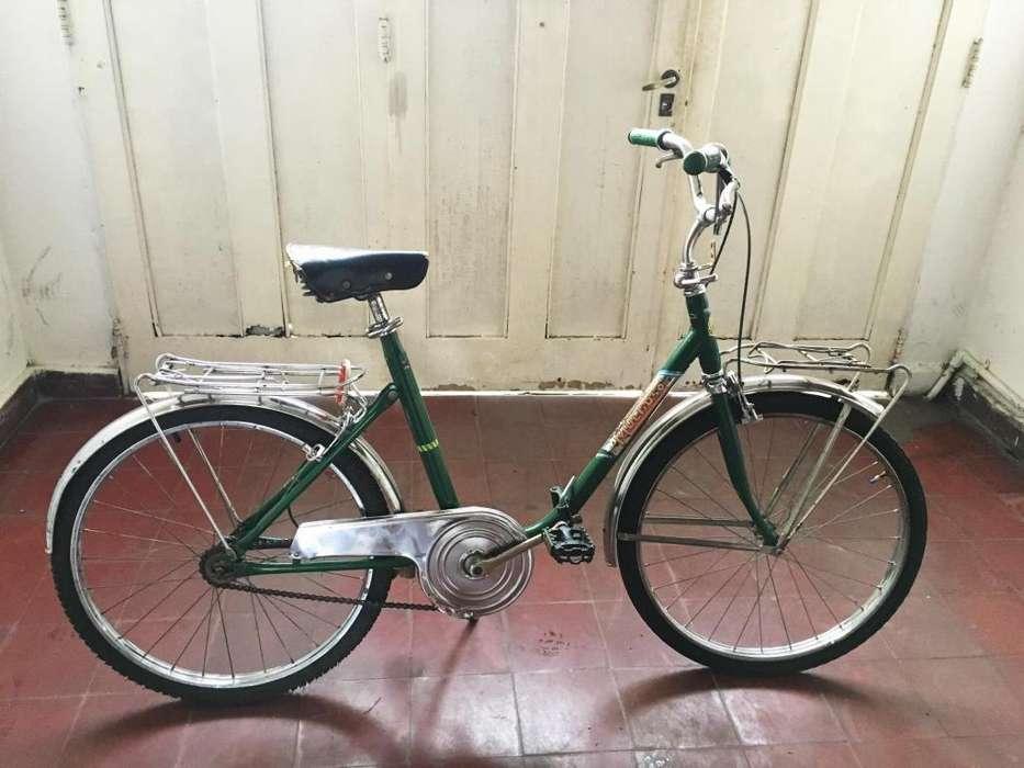 Bicicleta rodado 24 plegable muy buen estado se la lleva andando adultos unisex