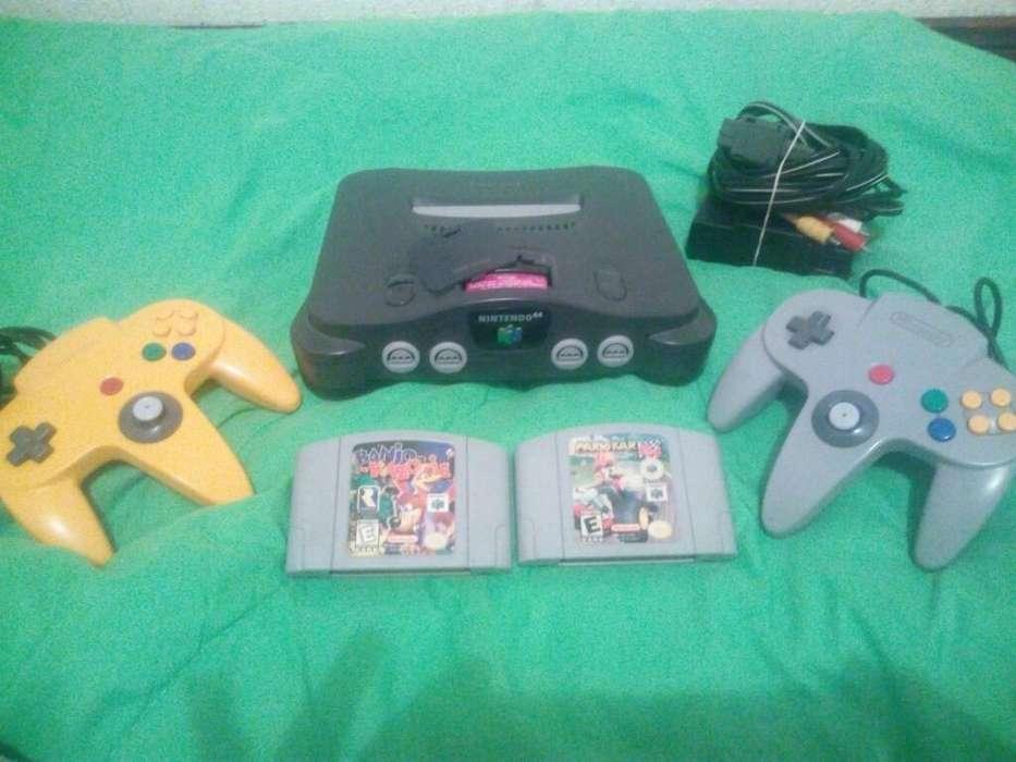 Nintendo 64 con Mario Kart