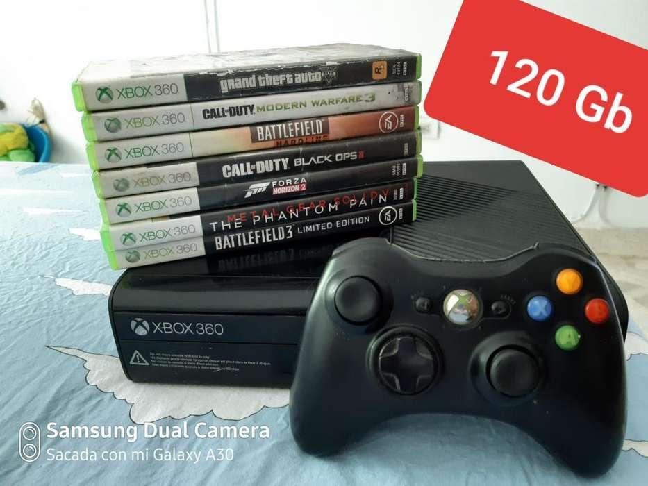 Vendo Cambio Xbox 360 Super Slim