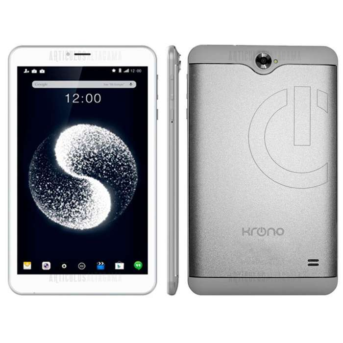 Tablet Celular Krono 883 Doble Sim Card 3g Gps 8gb Ram 1gb