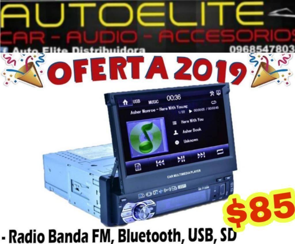 Pantalla Retractil Androide Bajos Audio
