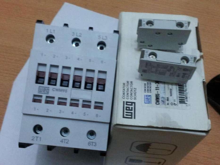 Contactoras Weg Cwm de 95 ,50 ,32 ,9 amperes