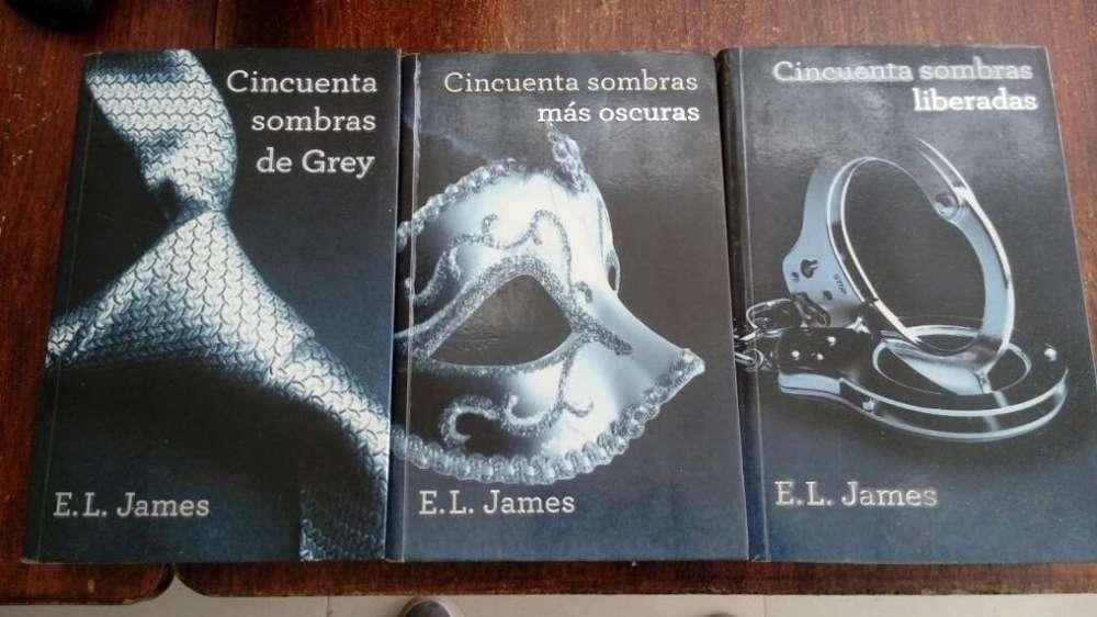 Libros Trilogía Saga Completa 50 Sombras de Grey