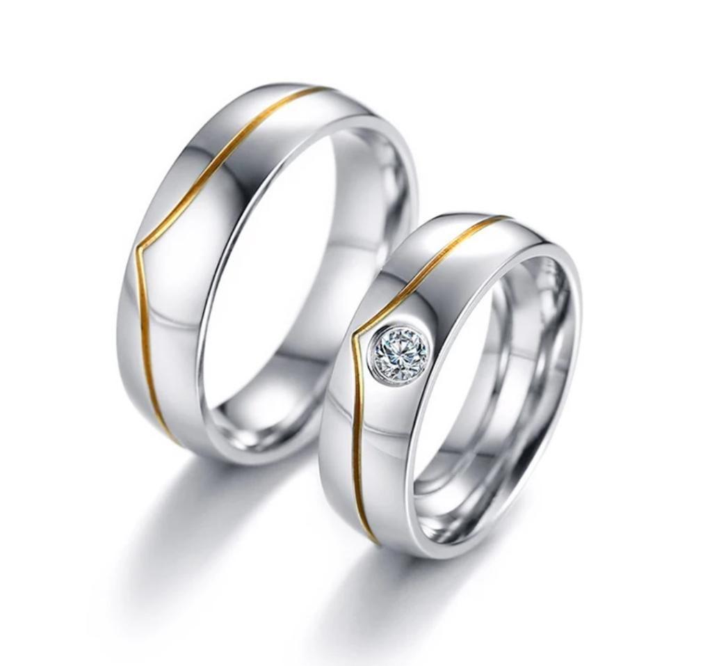 31dd67126ea2 Anillos Matrimonio Boda Plata Fina Oro - Quito