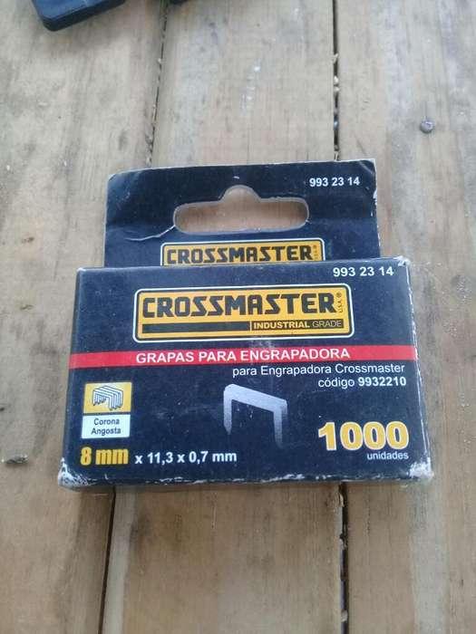 1000 Grampas para Encrampadora Crossmast