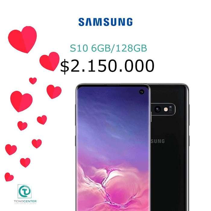 Samsung Galaxy S10 128gb, nuevos, originales, Garantia, TIENDA FISICA, los esperamos.
