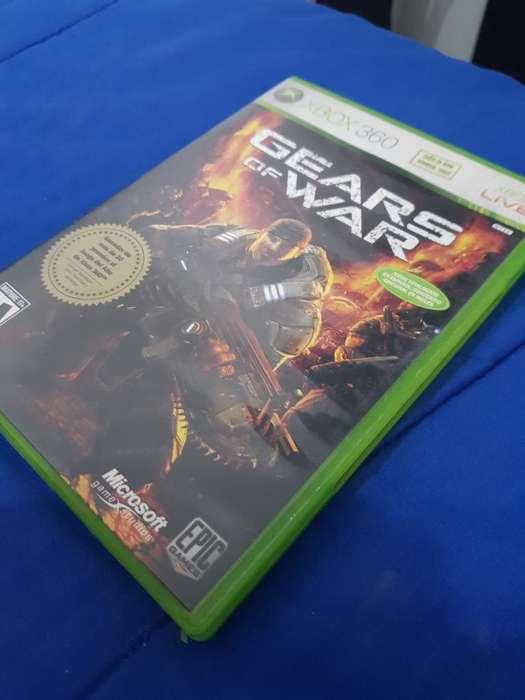 Gears Of War Xbox 360 Original Nuevo.