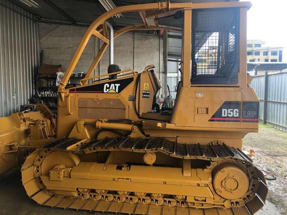 Caterpillar: D5G LGP Año: 2005 SEMINUEVO Tractor oruga 3800 horas POQUÍSIMO USO