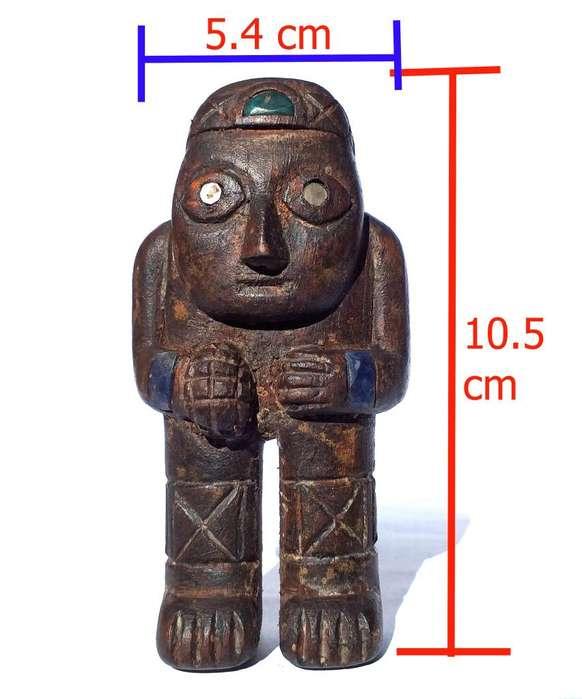 Ekeko Inca, Replica, Antiguedades, Elaborado En Madera.