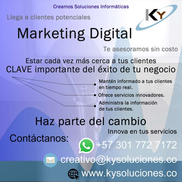 Marketing Digital Desarrollo WEB Servicio Técnico APPS