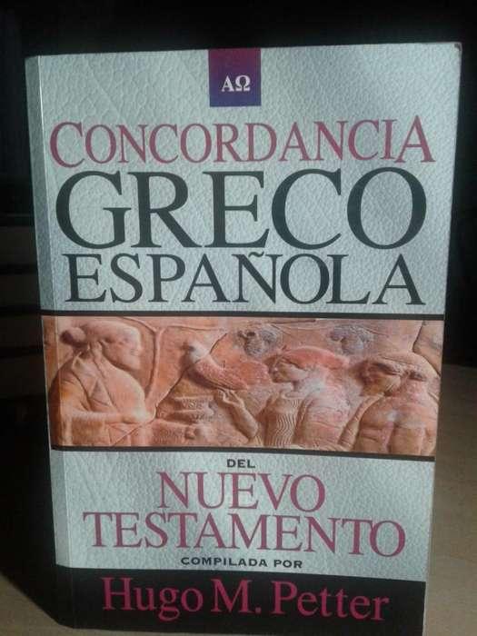 CONCORDANCIA GRECO ESPAÑOLA DEL NUEVO TESTAMENTO