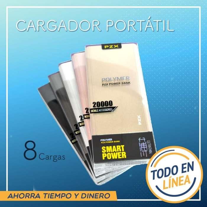 Bateria Recargable 20000 Mhz!! 2 Puertos