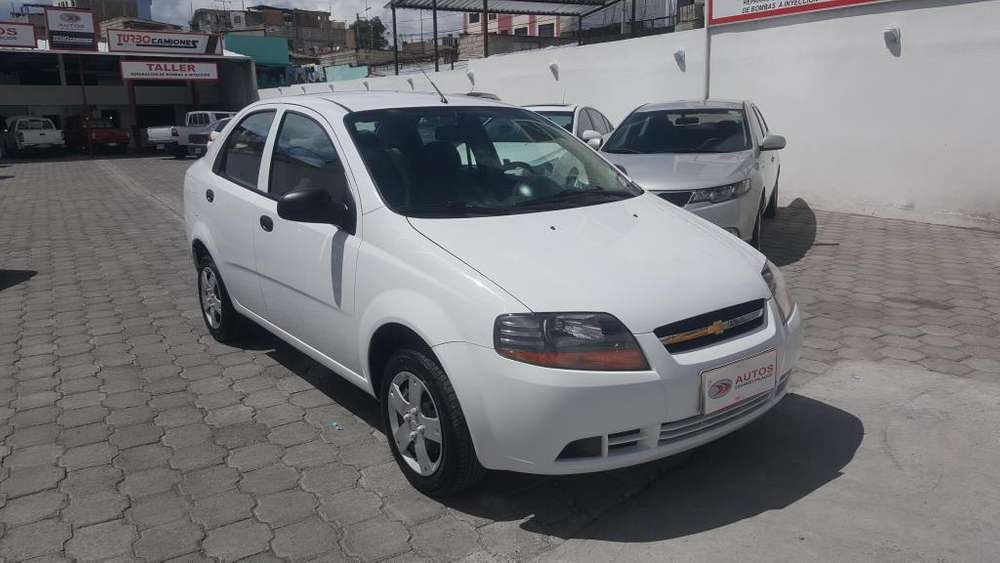Chevrolet Aveo Family 2017 - 50000 km