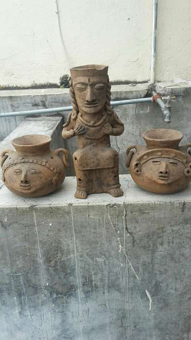 Adornos de Barro Tipo Arqueológicos