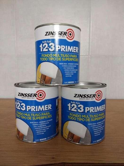 ZINSSER BULLS 123 PRIMER 1LT