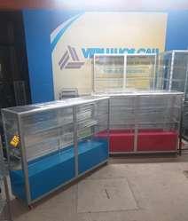Vitri Lujos Cali Todo tipo de vitrinas en aluminio, lujo y giratorias