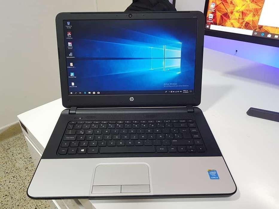 PORTATIL HP i5 4ta To 2.60GHZ, 750GB DISCO, 4GB RAM DDR3, PATALLA 14, UNIDAD DE DVD CON QUEMADOR