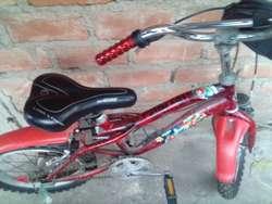 Bicicleta Aro 16 Del Hombre Araña