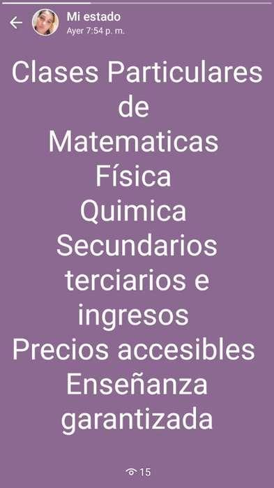 Enseño Física Y Química