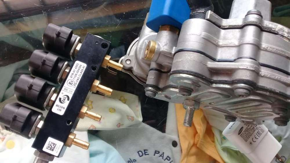 inyector y regulador o gasificador de gas para glp quinta generacion