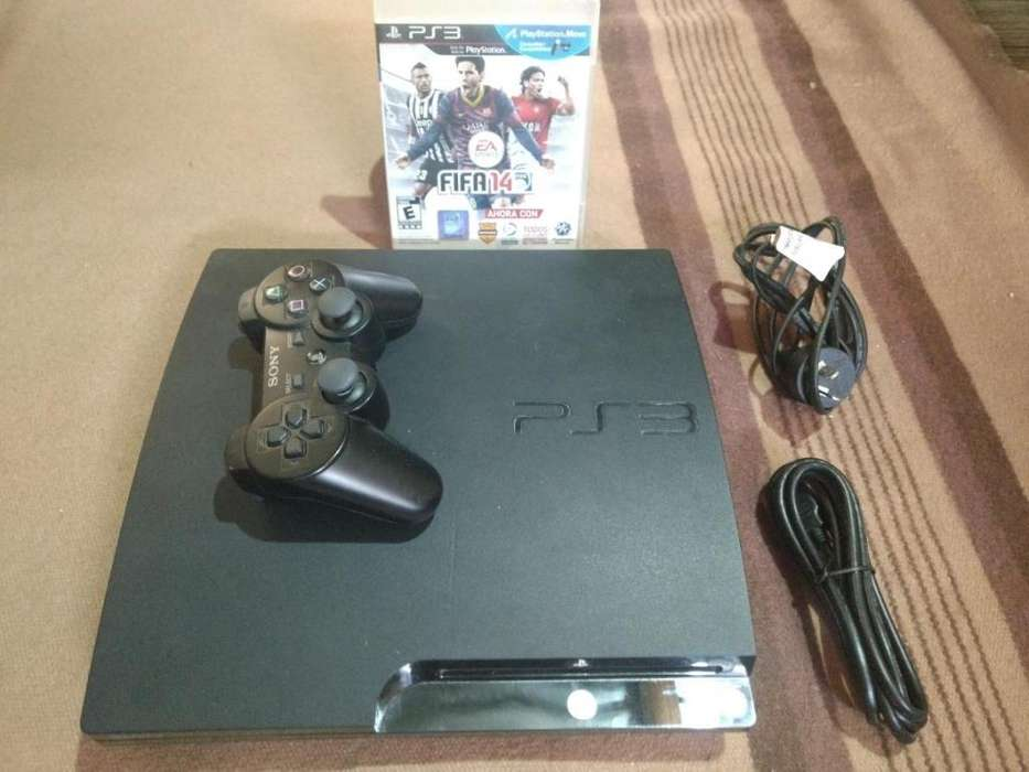 PS3 160GB con GTA 5 y más, llevo gratis a domicilio!