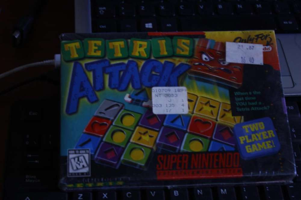 Tetris Attack (Super Nintendo Entertainment System, 1996)