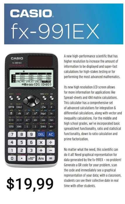 <strong>calculadora</strong> Cientifica Casio 991ex