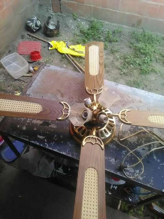 <strong>ventilador</strong> de Techo con Lampara