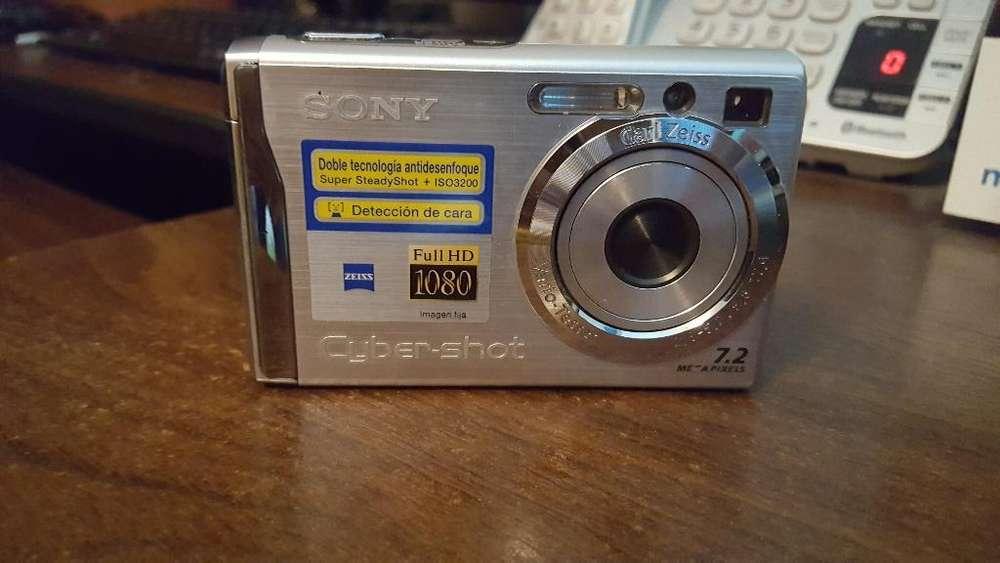 Camara Digital Sony 7.2 Megapixeles