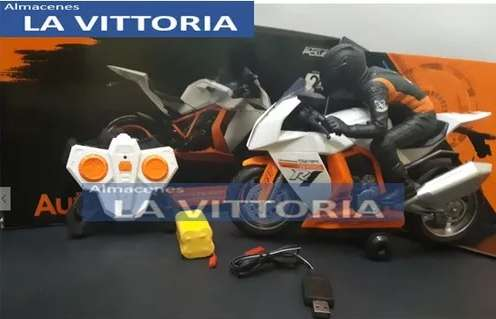 Moto a control remoto de Carreras Naranja
