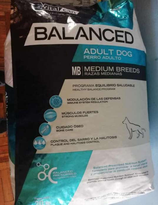 Balanced Cachorro Adulto 20kg