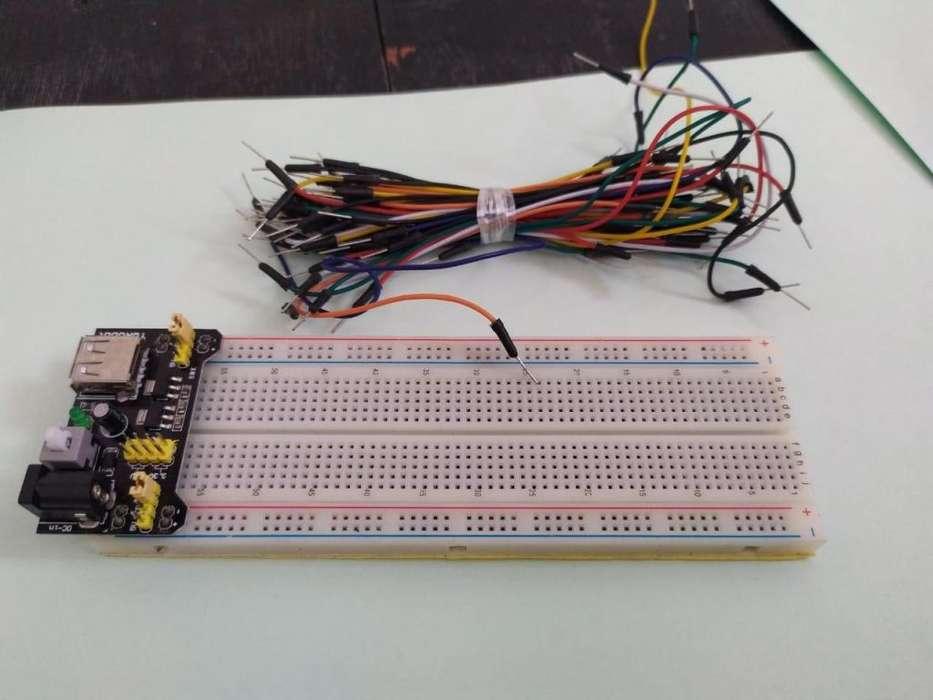 Kit Protoboard, Modulo Fuente Y Cables