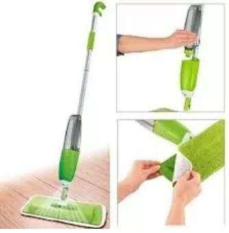 Mopa Spray Mop Microfibra Rectangular Trapeador Pisos