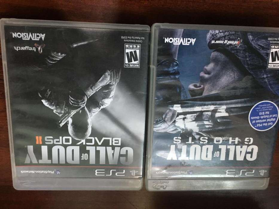 Call of Duty Ghosts y Call of Duty Black Ops 2 Combo