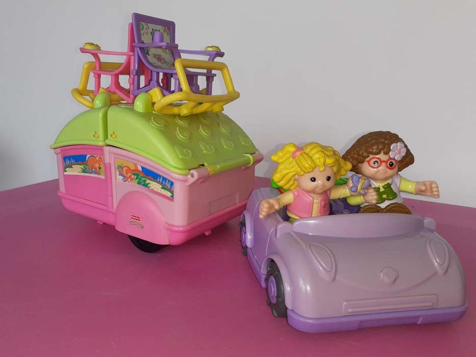 Little People Campamento - Fisher Price