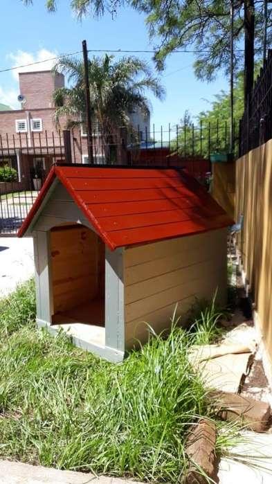 Cuchas para perros de madera N4 atornilladas, encoladas y pintadas de larga durabilidad, RESISTENTE A LA INTEMPERIE