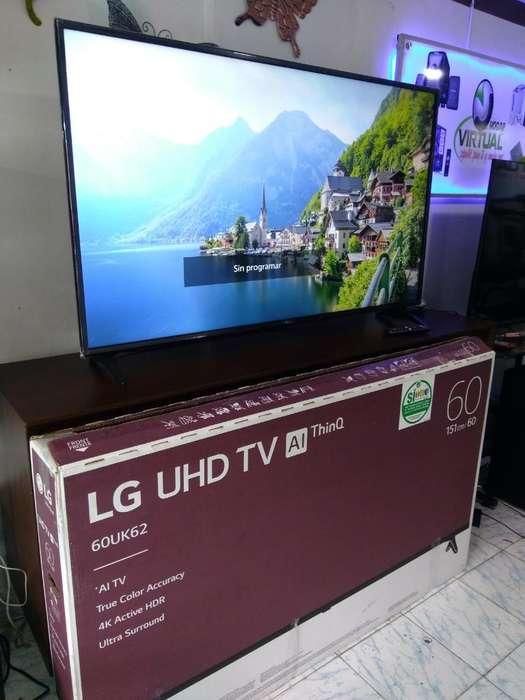 Tv Lg Smart 60p Nuevo 4k 2019