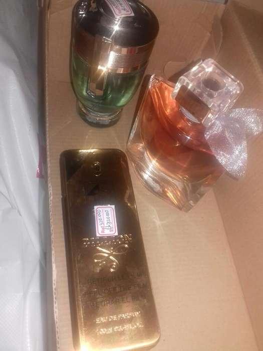 Super Combo Originales de Perfumes Finos