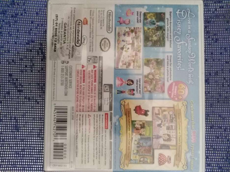 Disney Magical World, Vendo Nuevo 3ds