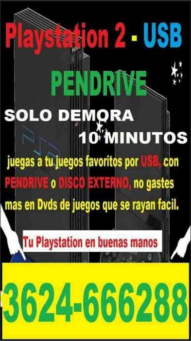 Play 2 Programaccion de Juego Usb