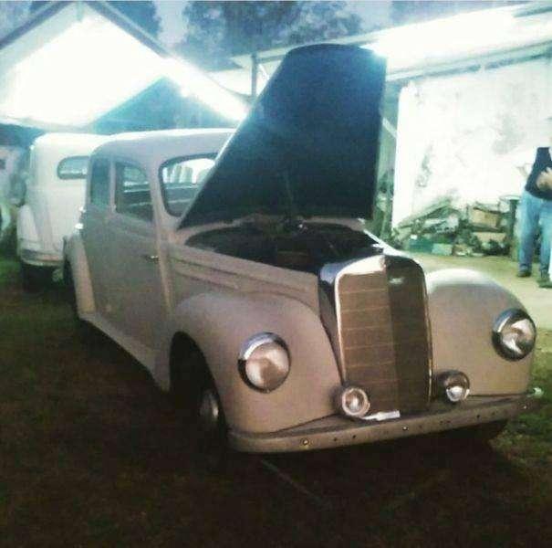 Mercedes-Benz 220 1953 - 150000 km