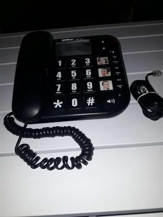 Teléfono con Cable Intelbras con Identif